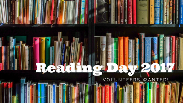 Now's Your Chance to Be a Volunteer Reader