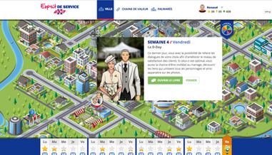 Esprit de Service, Social Serious Game to practiceCustomerService