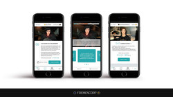 Templiers - ergonomie sur mobile