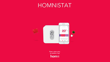 Homnistat, application de gestion de thermostat intelligent