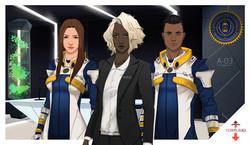 Templiers - personnages de l'AMAT
