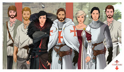 Templiers - personnages