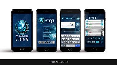 Mobile serious games: Thalès Timer