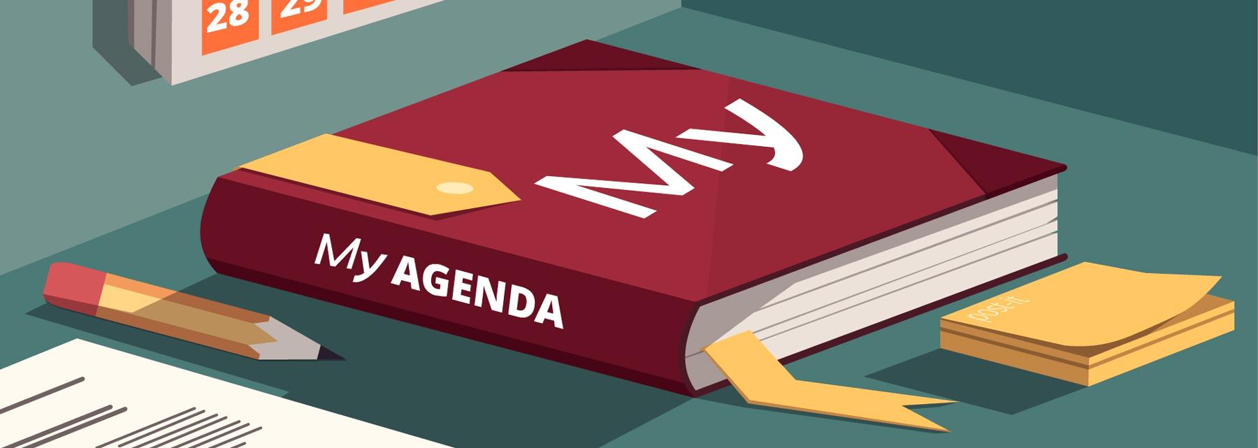 The user's agenda