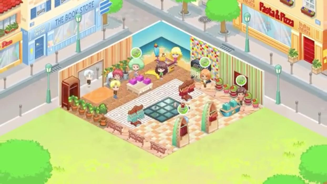 Overview of a shop