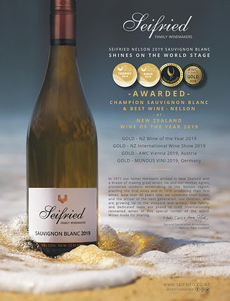 Sefried Sauvignon Blanc 2019 NZ Wine of