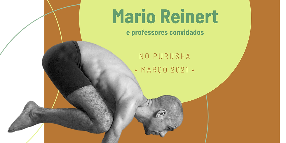 Curso de Aprofundamento em Yoga e Treinamento de Professores com Mario Reinert