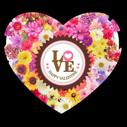 Happy Valentine - Heart Mousepad