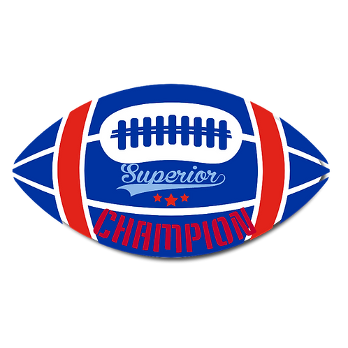 Superior Champion- Football Plaques
