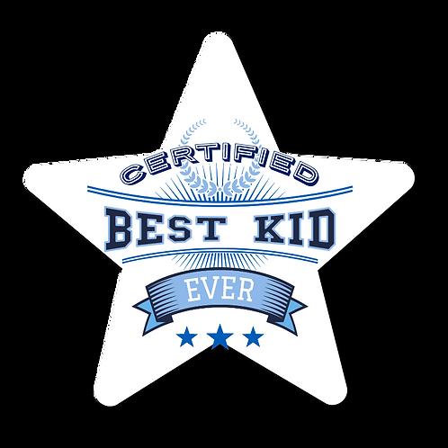 Certified Best Kid- Award