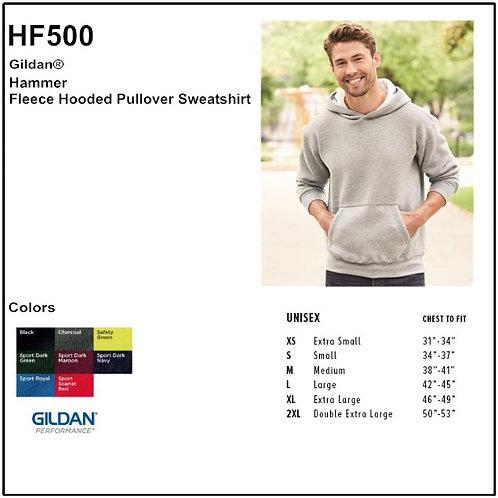 Personalize -Gildan HF500 - Adult Hammer Fleece