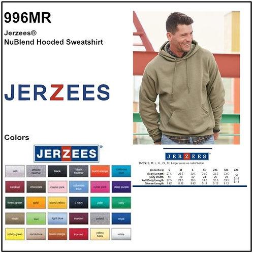 Personalize -JERZEES 996MR - NuBlend Unisex Hooded Sweatshirt