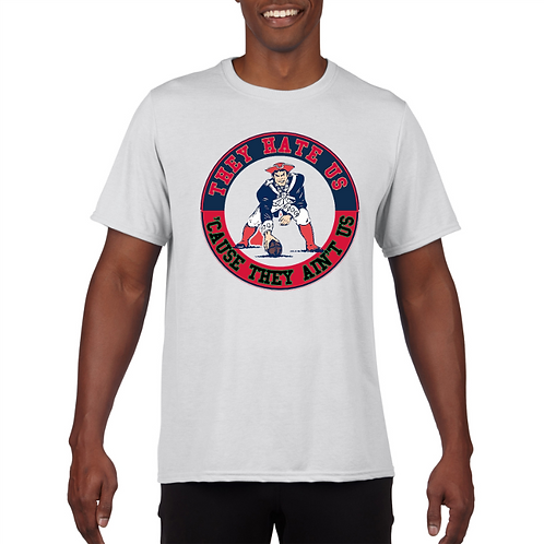 New England Patriots Tee- Superbowl 2018- Front- White