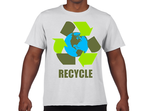 Recycle- Earth Day Youth & Adult Unisex Tee
