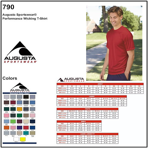 Personalize -Augusta 790 - Performance Wicking T-Shirt