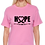 Tultex 213 - Ladies' Fine Jersey T-Shirt- Pink City TShirt- Hope