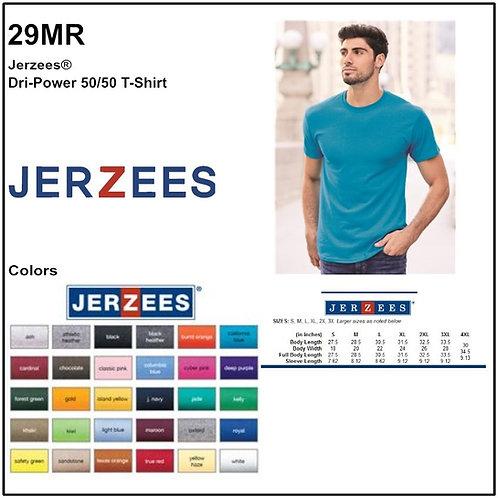 Personalize -Jerzees 29MR - DRI-POWER Unisex Tee
