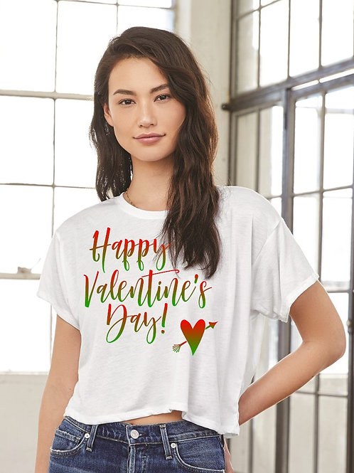 Happy Valentine Day Tee - Vintage Bella+Canvas BC8881