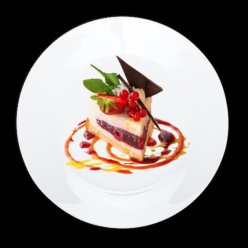Cheesecake- Decorative Dinner Plate