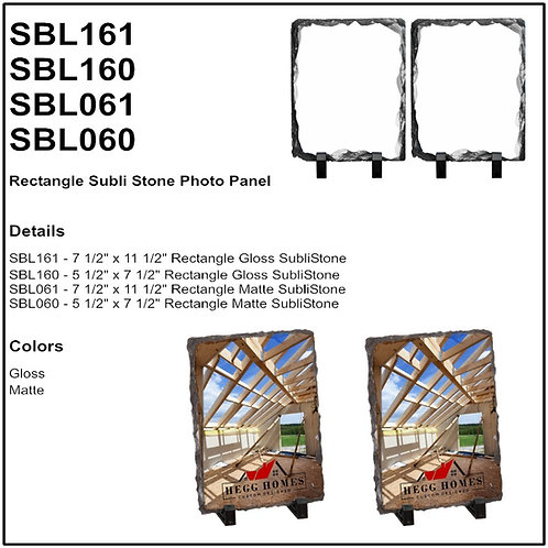 Personalize - Rectangle SubliStone Photo Panel