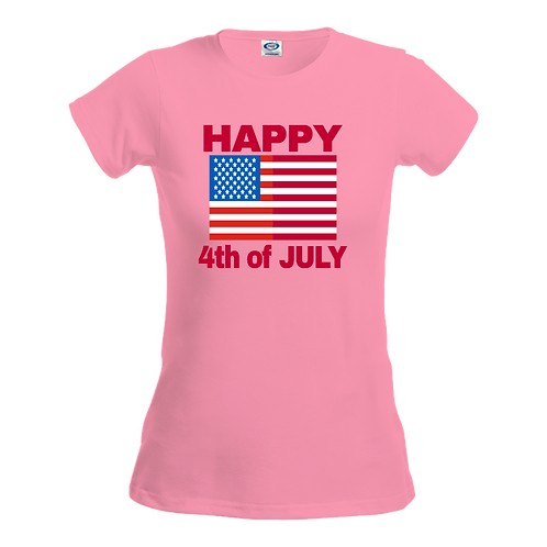 Gildan 42000L - Performance Ladies' T-Shirt- 4th of July