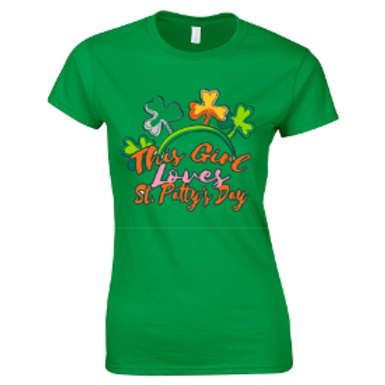 This Girl Loves St Patty's Day TShirt
