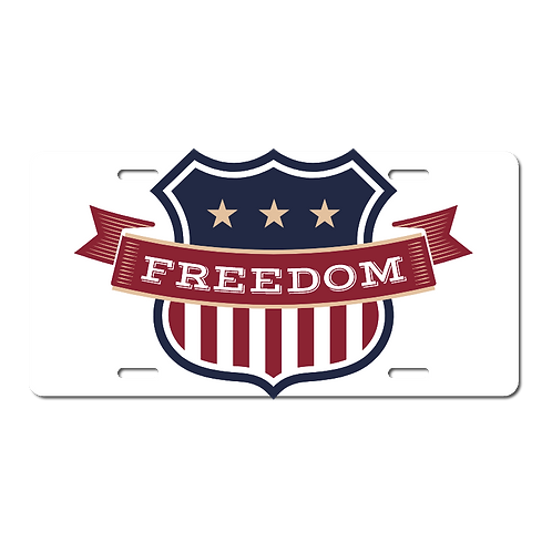 Freedom- License Plates
