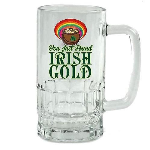 Irish Gold- Saint Patrick's Day Beer Stein