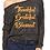 Bella-Canvas 8850 / Women's Flowy Long Sleeve Off Shoulder Tee- Black Slub