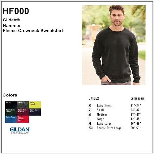 Personalize -Gildan HF000 - Adult Hammer Fleece