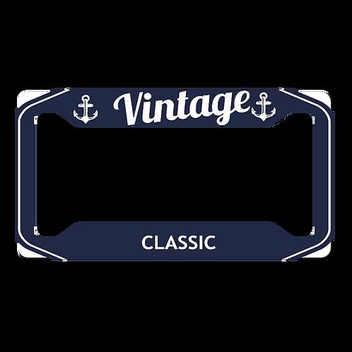 Vintage- License Frame