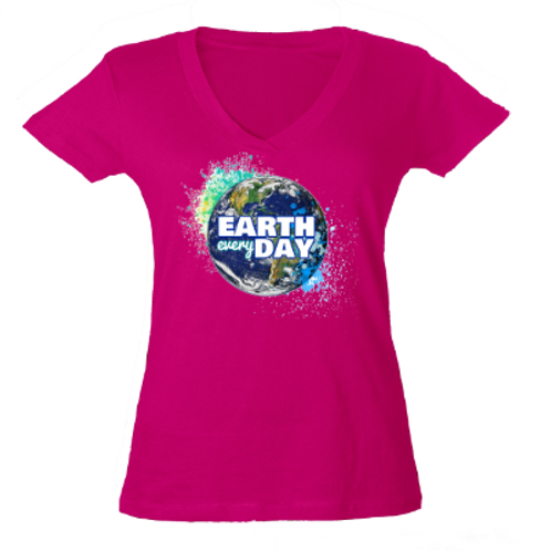 Earth Every Day Pink Tee