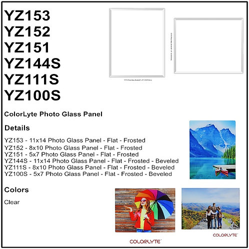 Personalize - ColorLyte Glass Photo Panel