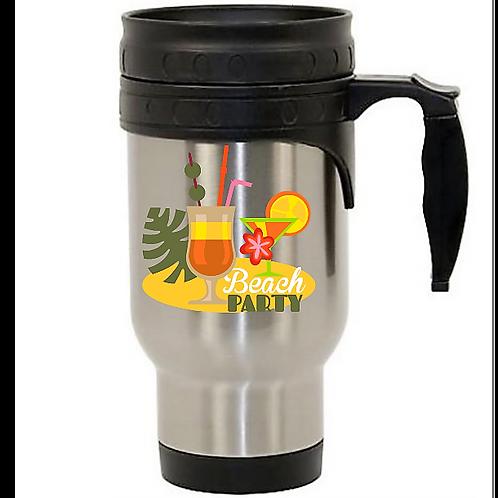 Beach Party Travel Mug-