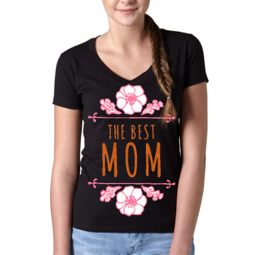 The Best Mom- Mother's Day Tee