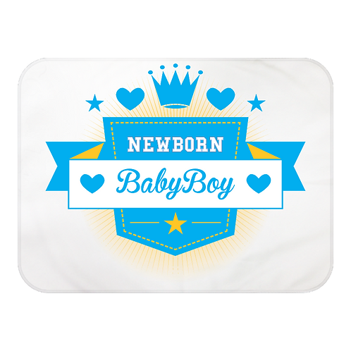 Newborn Baby Fleece Burp Cloth