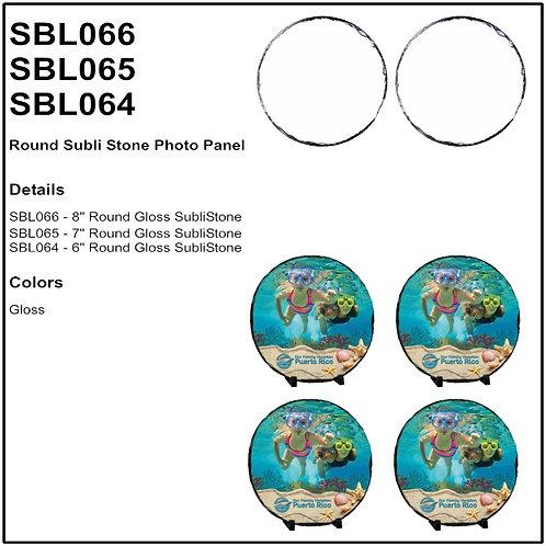 Personalize - Round SubliStone Photo Panel