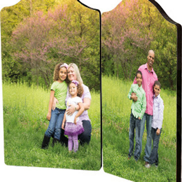 Chromaluxe Hinged Photo Panels- Personalize