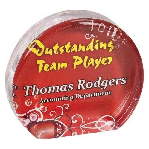 Round Sublimatable Acrylic Award