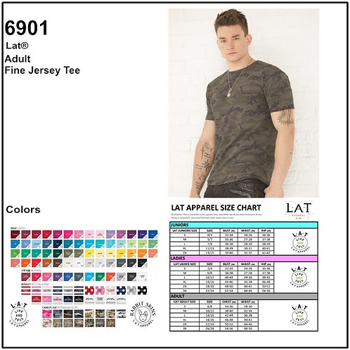 Personalize -LAT Apparel 6901 / Men T