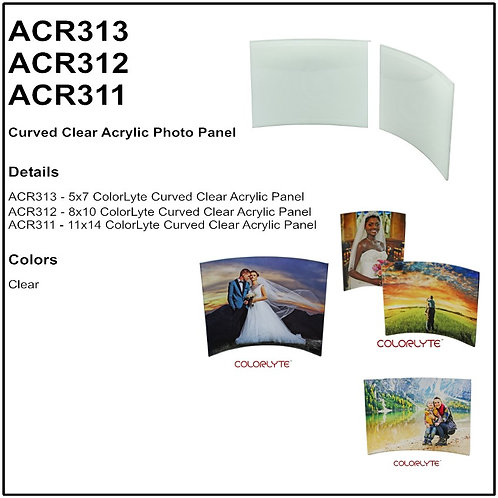 Personalize - ColorLyte Clear Acrylic Photo Panels