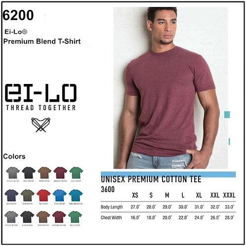 Personalize -Ei-Lo 6200 - Premium Blend T-Shirt