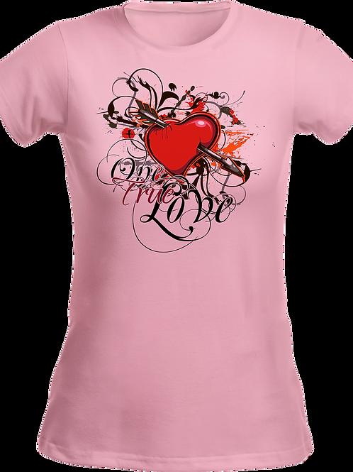 Valentine Day T Shirt- Performance Ladies' T-Shirt