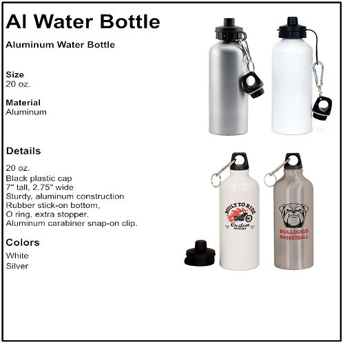 Personalize - Aluminum Water Bottles