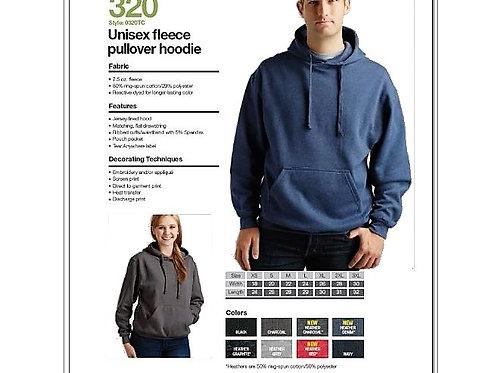Personalize -Tultex 320 - Unisex Fleece Pullover Hoodie