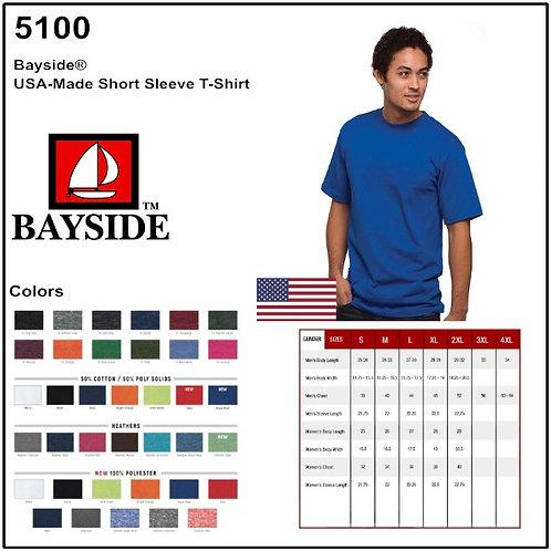 Personalize -Bayside 5100 - Basic T-Shirt