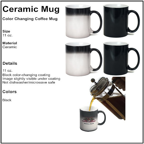 Personalize Color Changing Mugs