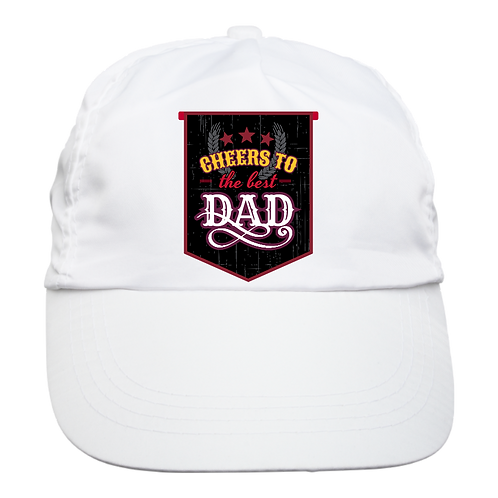 Cheers To Dad- Low Profile Cap