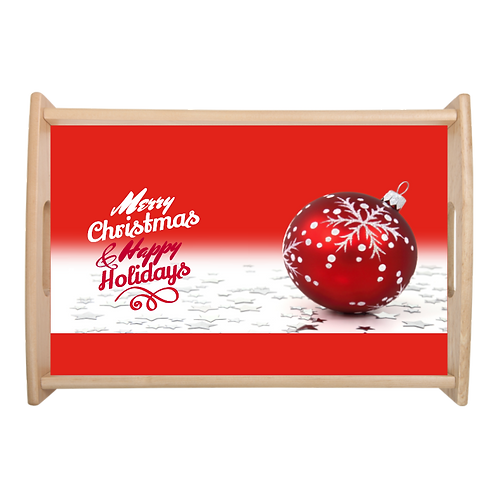 Merry Christmas- Serving Tray