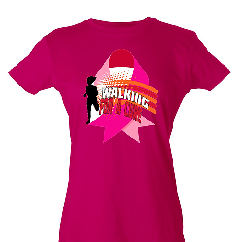 Breast Cancer T Shirt- Pink